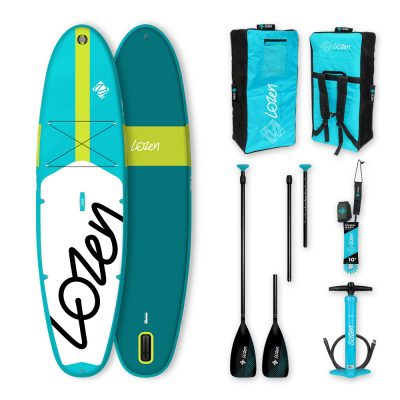 Stand Up Paddle Board gonflable Lozen 10' version 2021 marque française