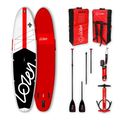 Stand Up Paddle Board gonflable Lozen 10'8 Fusion Dropstitch Allround version 2021 marque française