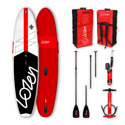 Stand Up Paddle Board / Windsurf gonflable Lozen 11' WindSUP Fusion Dropstitch version 2021 marque française