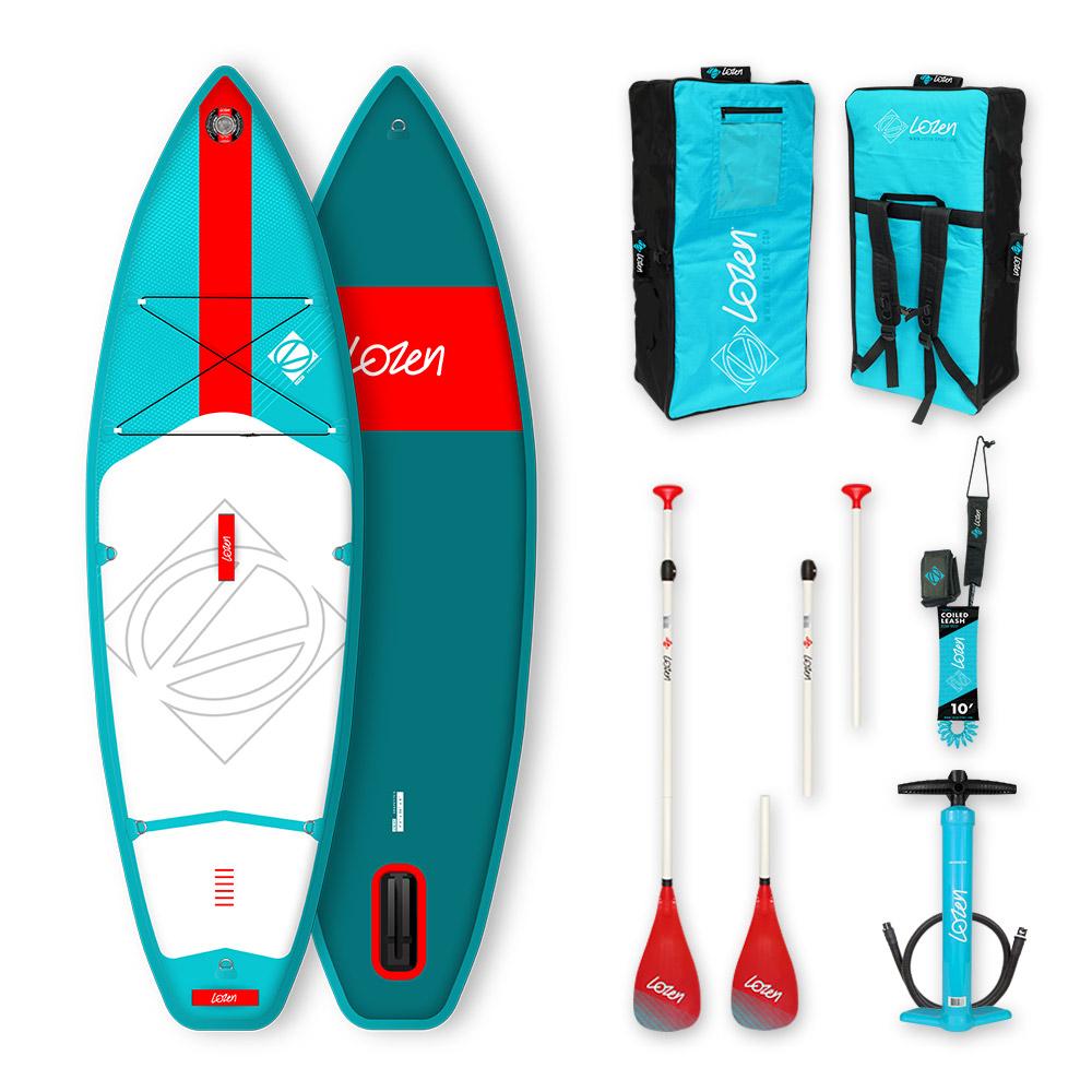 Stand Up Paddle Board gonflable Lozen 7'5 pour enfants version 2021 marque française