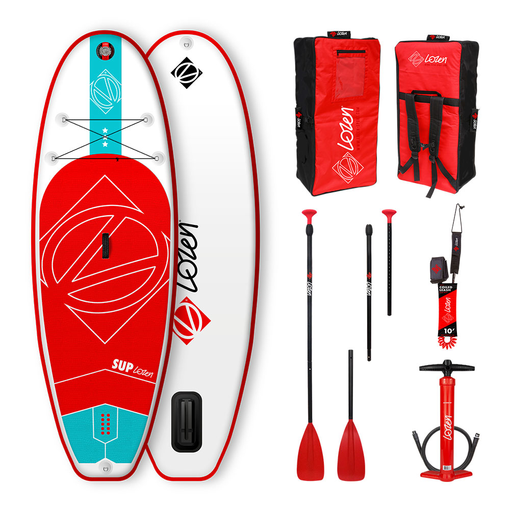 Stand Up Paddle Board gonflable Lozen 7'5 pour enfants version 2020