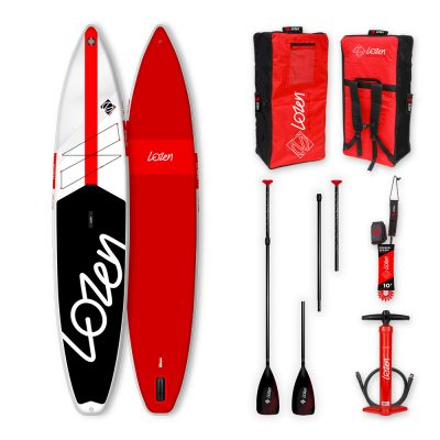 Stand Up Paddle Board gonflable Lozen 12'6 Fusion Dropstitch version 2021 marque française