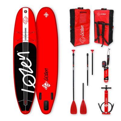 Stand Up Paddle Board gonflable Lozen 10'8 léger pour la famille. Pour les longues balades et le yoga fitness.