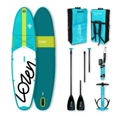 Stand Up Paddle Board gonflable Lozen 10'4 version 2021 marque française