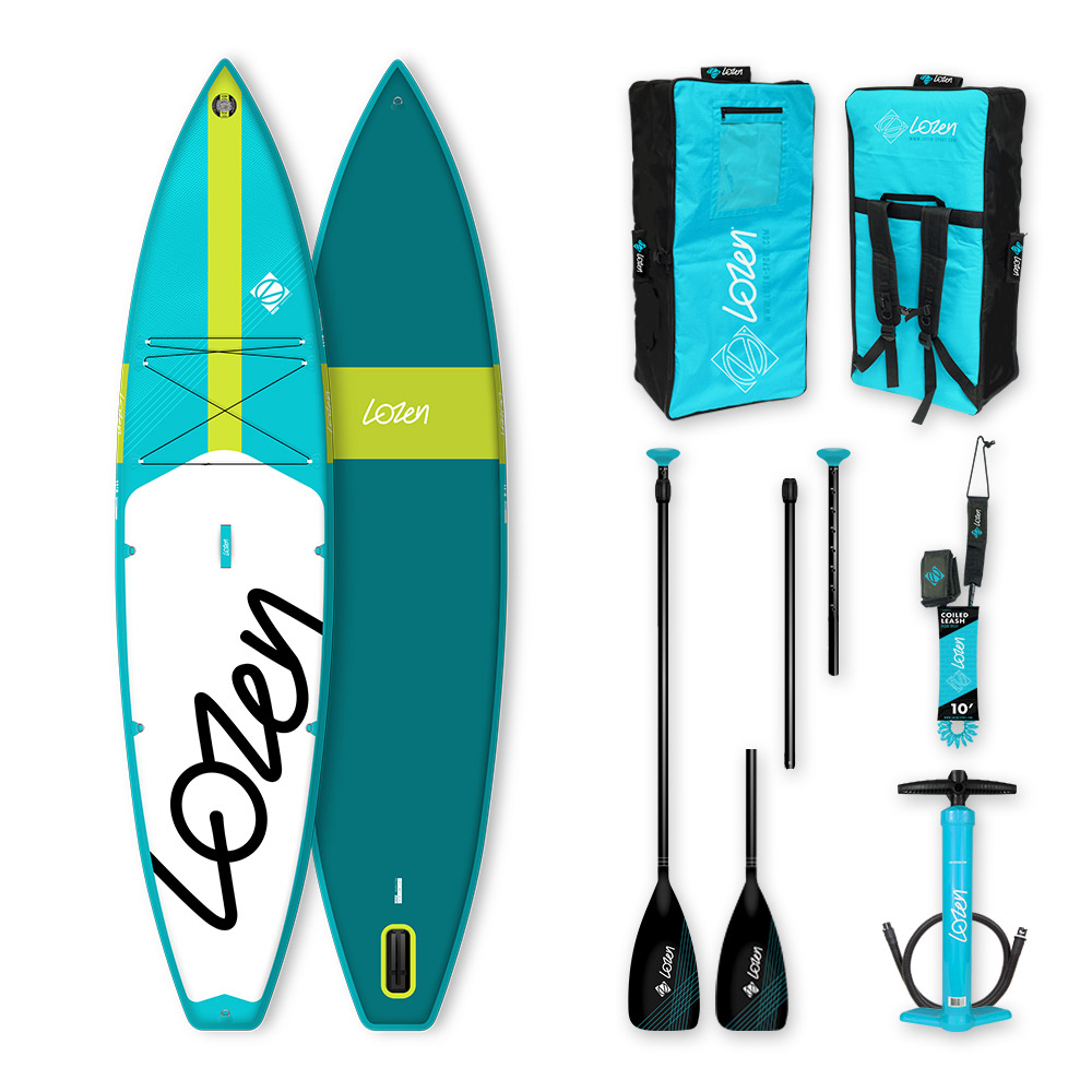 Stand Up Paddle Board gonflable Lozen 11'8 Touring version 2021 marque française
