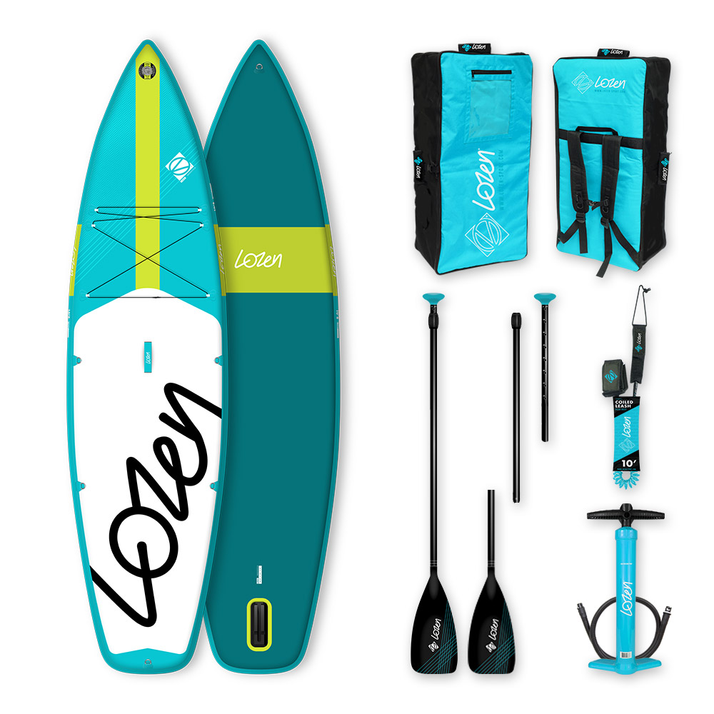 Stand Up Paddle Board gonflable Lozen 10'8 Touring version 2021 marque française