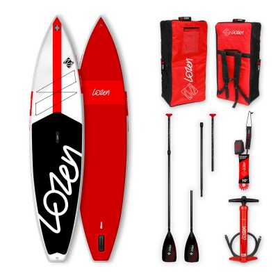Stand Up Paddle Board gonflable Lozen 11'6 Fusion Dropstitch version 2021 marque française