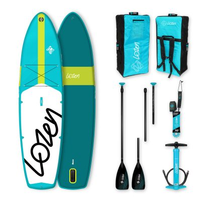 Stand Up Paddle Board gonflable Lozen 10'8 Wide version 2021 marque française