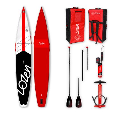 Stand Up Paddle Board gonflable Lozen 14' Fusion Dropstitch version 2021 marque française