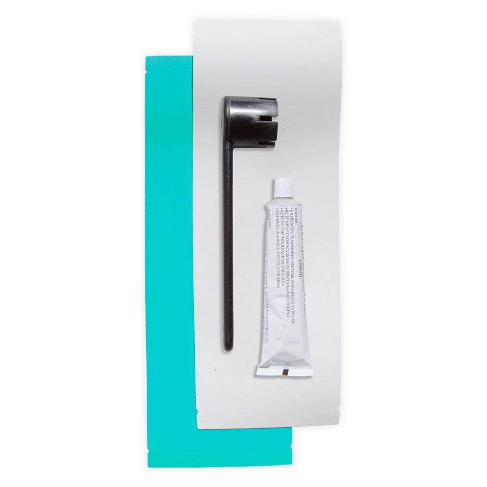 Kit de réparation pour planche de Stand Up Paddle Board gonflable PVC Light Bleu Lozen